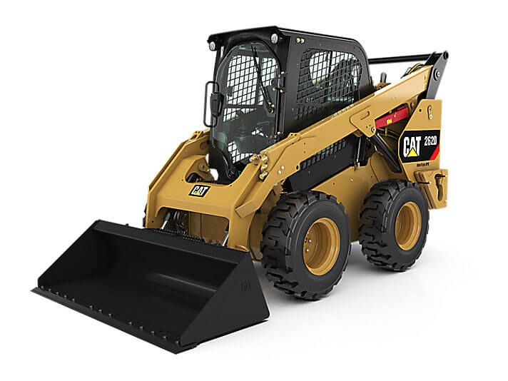 CAT 262D Skid Steer Loader