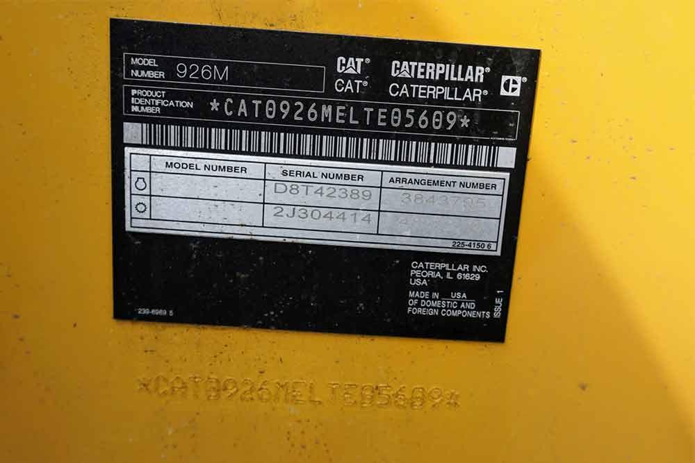 2018 CAT 926M Wheel Loader for sale