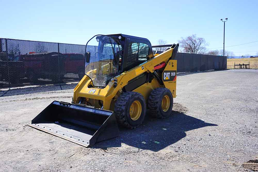 CAT 262D Skid Steer for Rent