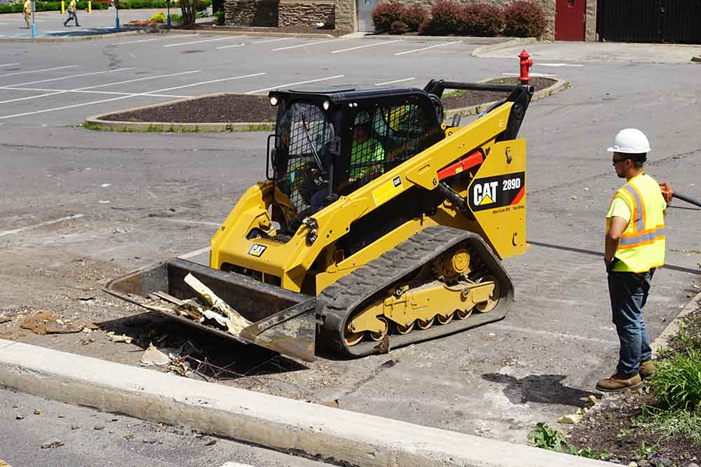 CAT 289D Track Loader for Rent
