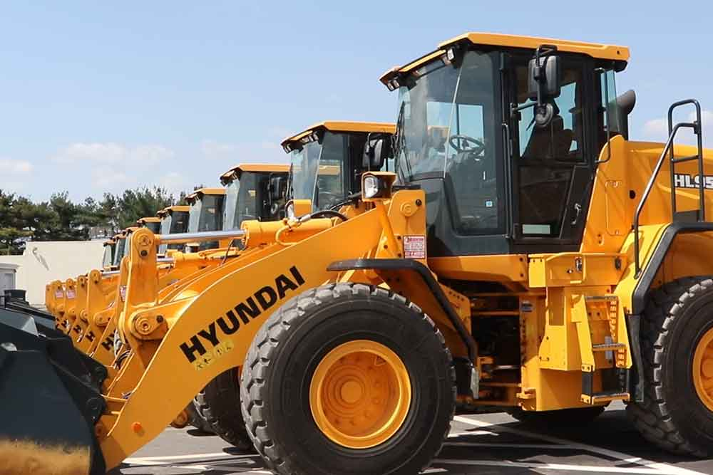 Hyundai HL 955 Wheel Loader
